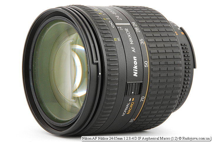 Nikon AF Nikkor 24-85mm 1:2.8-4 D IF Aspherical Macro (1:2)
