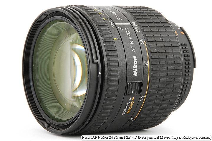 Nikon AF Nikkor 24-85mm 1:2.8-4 D IF Aspherical Macro (1:2)