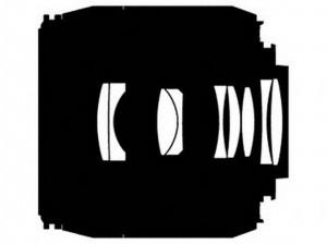 Оптическая схема объектива Nikon 10-24mm f/3.5-4.5G ED AF-S DX Nikkor