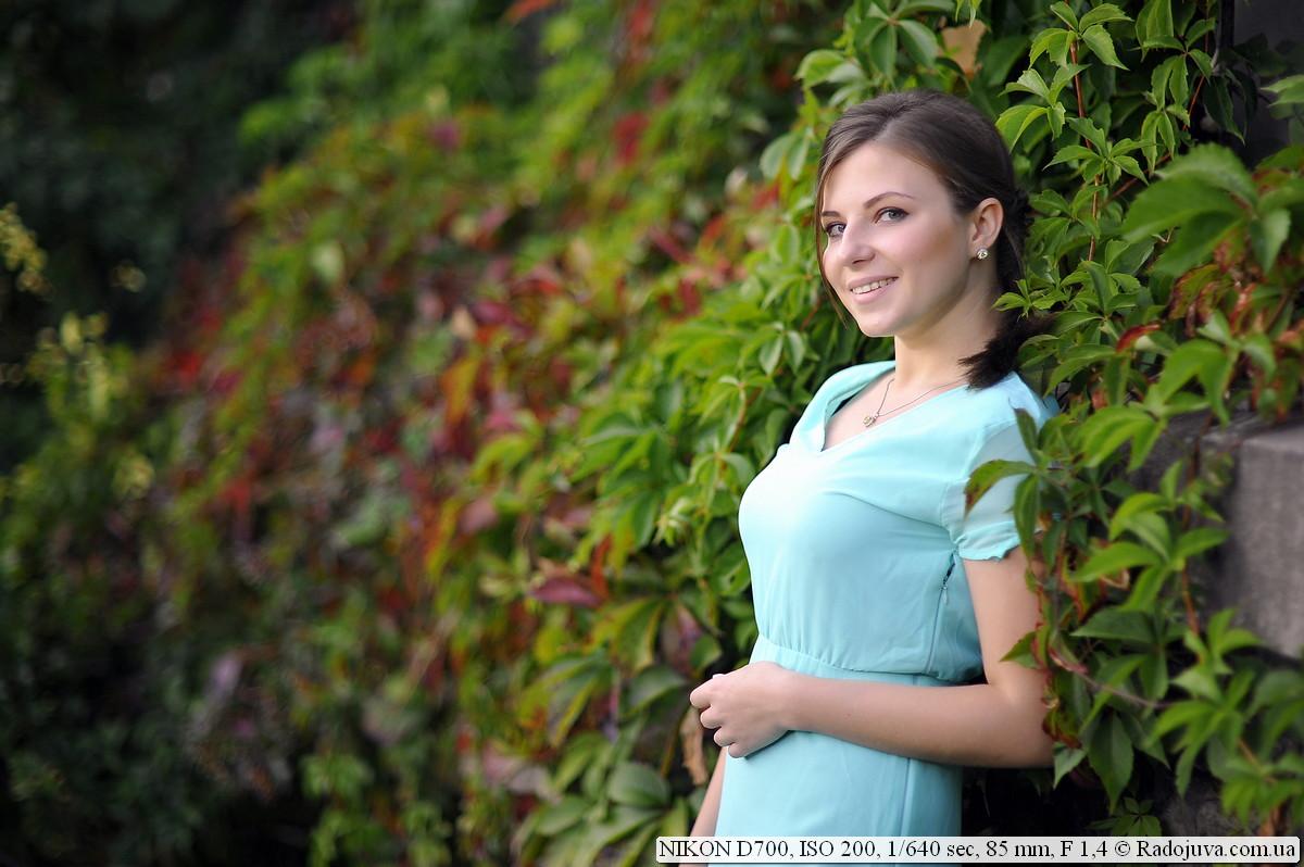 Example photo on Nikon D700