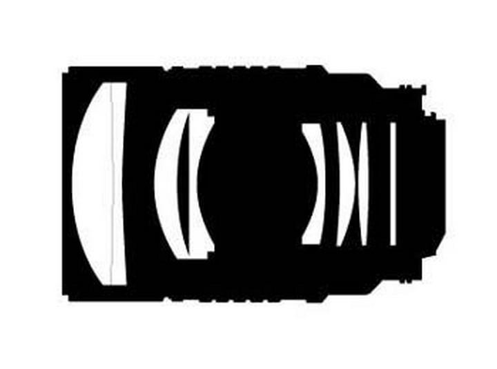 Оптическая схема Nikon 135mm