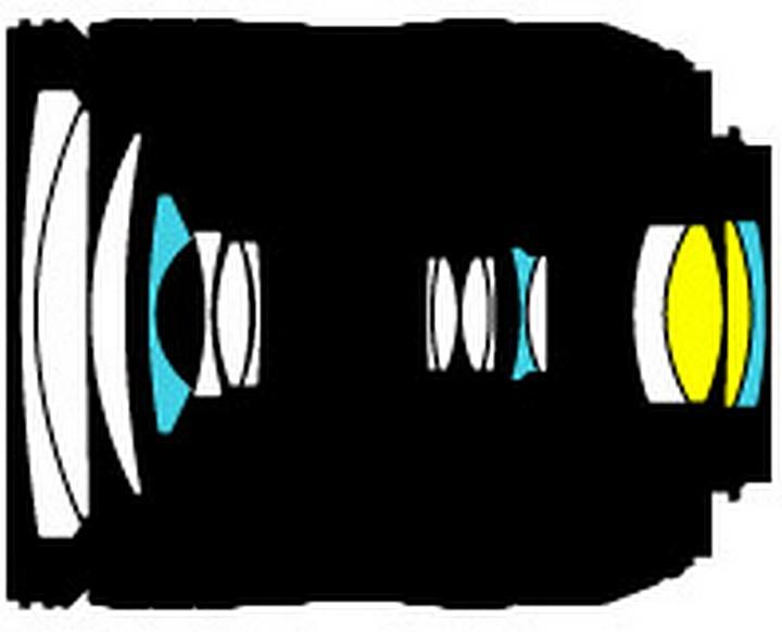 Оптическая схема Nikon 16-85mm f/3.5-5.6G ED AF-S DX VR Nikkor