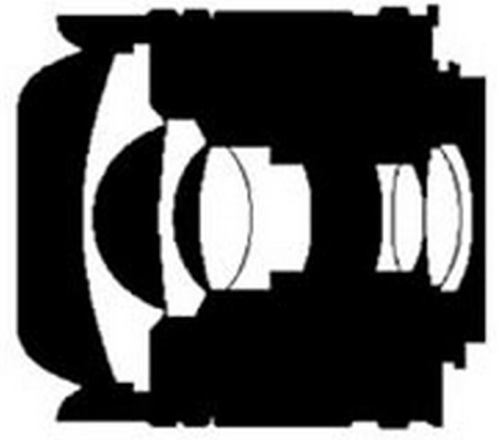 Оптическая схема Nikon 16mm f/2.8D AF Fisheye-Nikkor