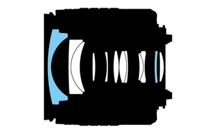 Оптическая схема Nikon DX VR AF-P Nikkor 18-55mm 1:3.5-5.6G