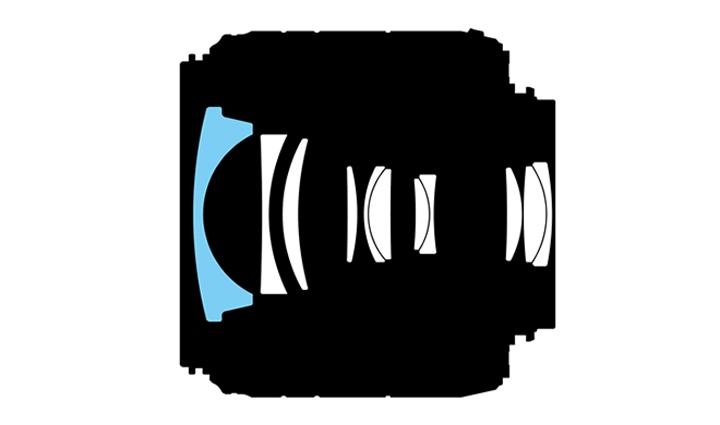Оптическая схема Nikon 18-55mm f/3.5-5.6GII ED VR AF-S DX Nikkor