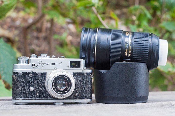 Размеры Nikon 24-70mm F2.8 N