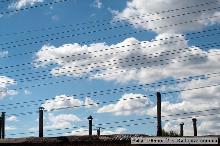 Photo at Baltar 100mm f2.3. Cut sky