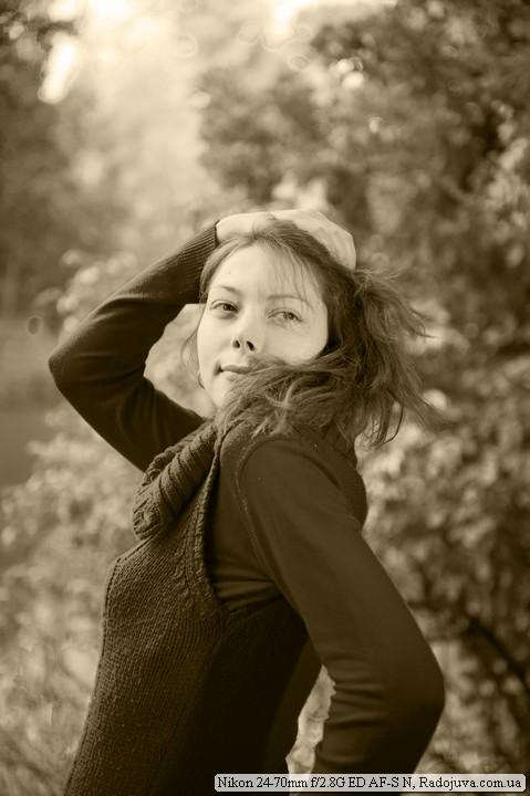 Портрет осенью