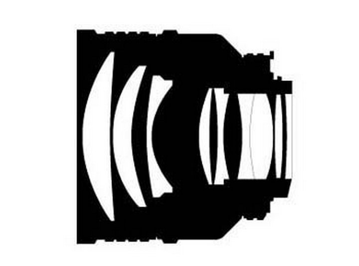 Оптическая схема Nikon 85mm f/1.4D IF AF Nikkor