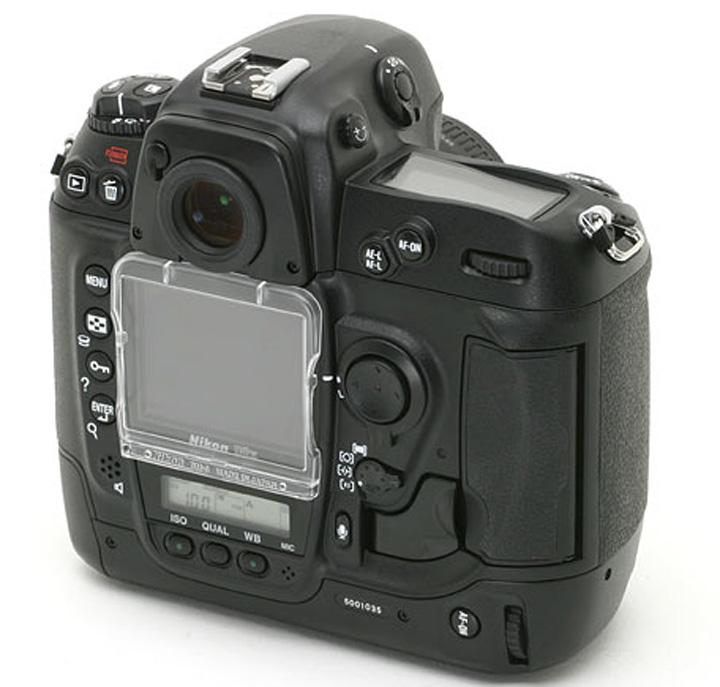 Nikon D2x rear view