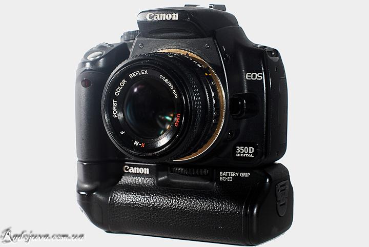 X-M F Porst Color Reflex 1:1.6/50mm UMC на современной камере