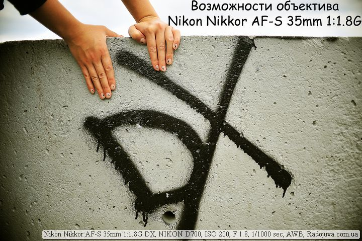 Возможности  Nikon AF-S 35mm F1.8G DX Nikkor