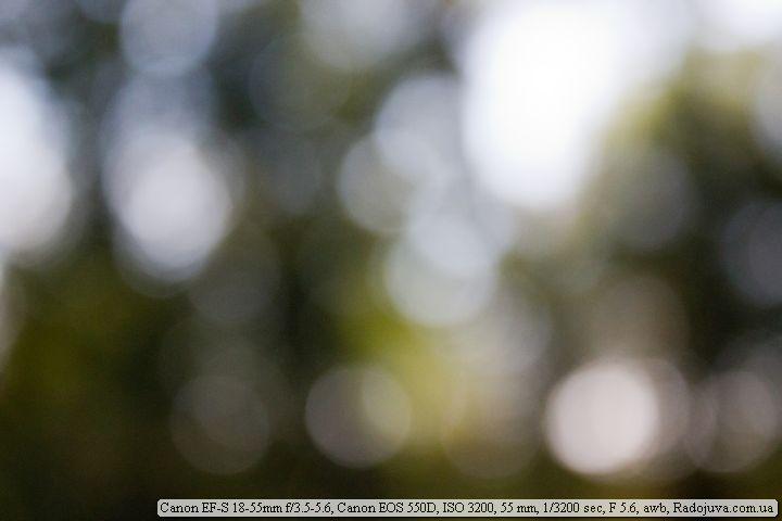 Пример фотографии на Canon EF-S 18-55mm f/3.5-5.6 III