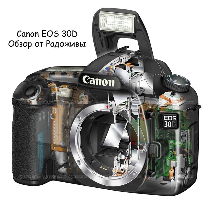 Обзор Canon 30d
