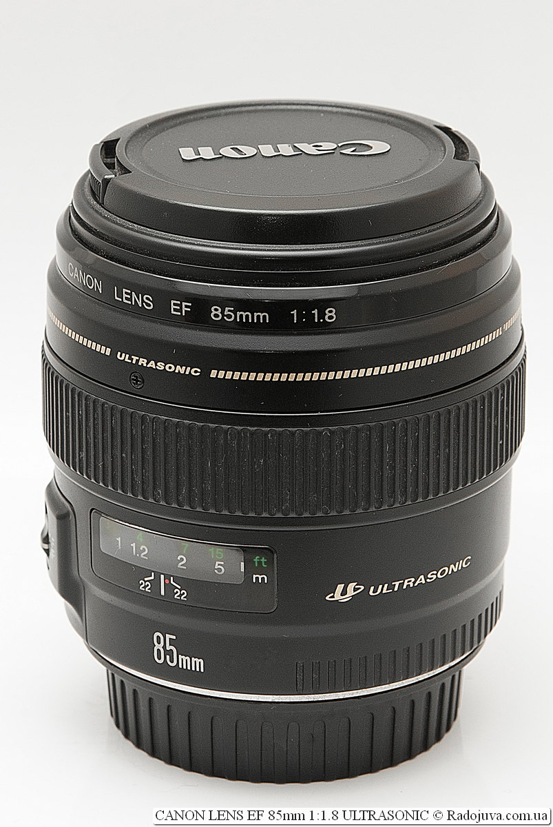 Canon LENS EF 85mm 1:1.8 ULTRASONIC USM