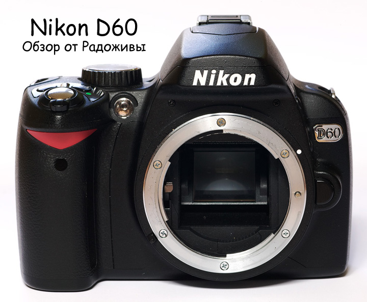 Обзор Nikon D60