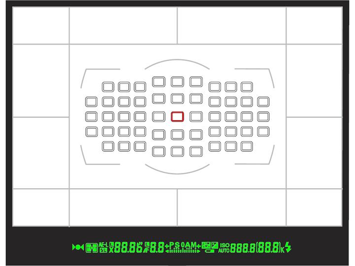 Оптический видоискатель с рядом дополнительных визуальных эффектов
