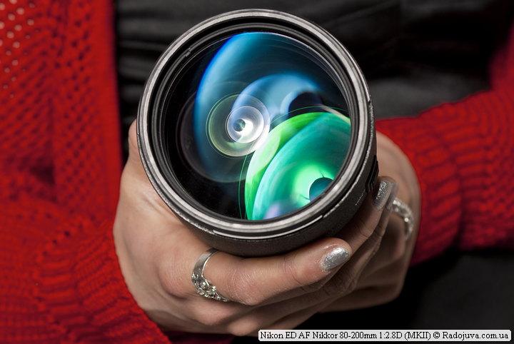 Просветление Nikon ED AF Nikkor 80-200mm 1:2.8D (MKII)
