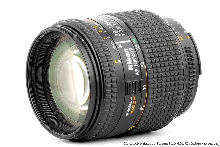Обзор Nikon AF Nikkor 28-105mm 1:3.5-4.5D