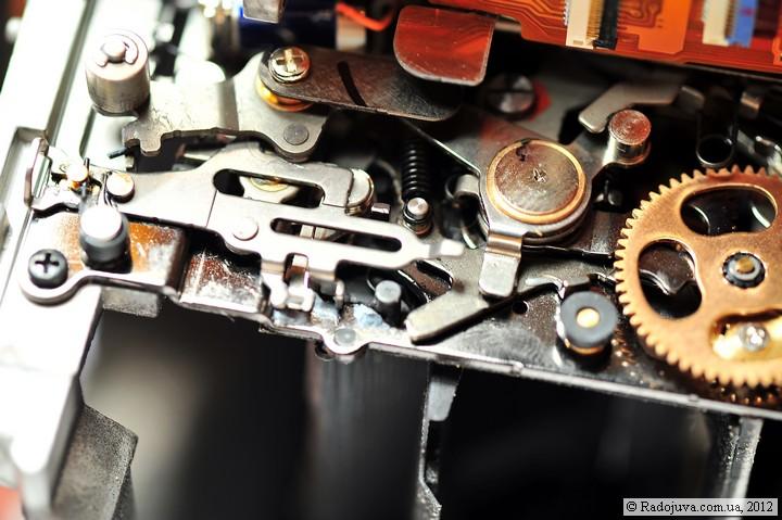 Огромное количество сложных механизмов
