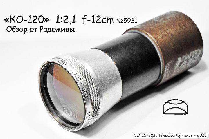 Обзор КО-120 1:2,1 120mm