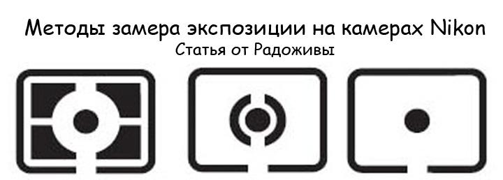 Методы замера экспозиции Nikon