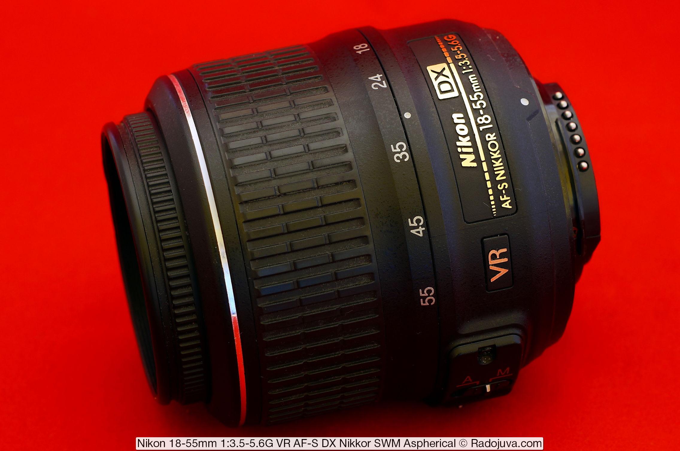 Nikon 18-55mm 1:3.5-5.6G VR AF-S DX Nikkor
