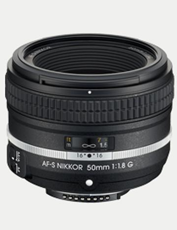 Вид Nikon AF-S NIKKOR 50mm f/1.8G (Special Edition)