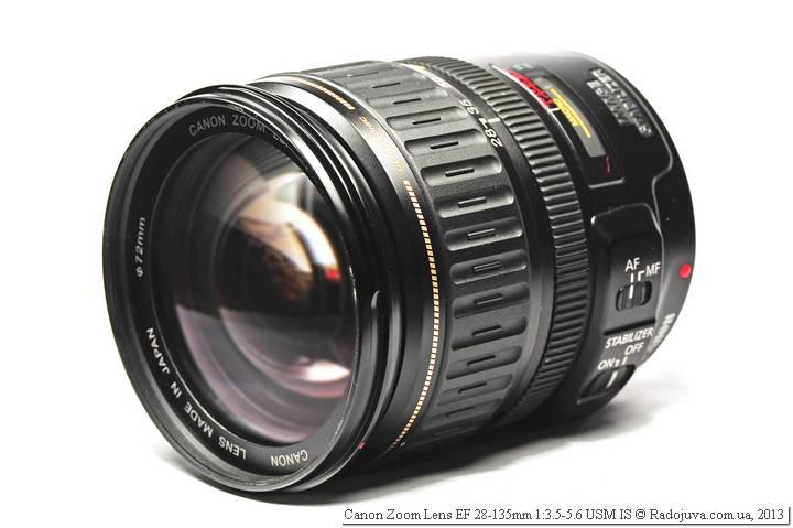 Объектив  Canon EF 28-135mm f 3.5-5.6 USM IS