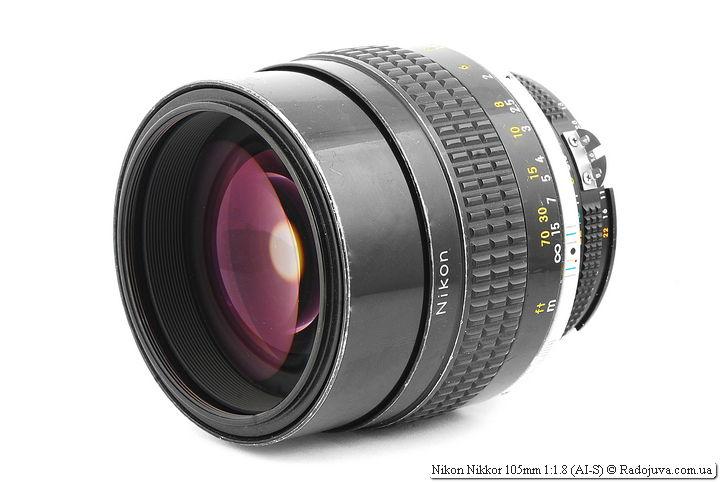 Обзор Nikon Nikkor 105mm 1:1.8 (AI-S)
