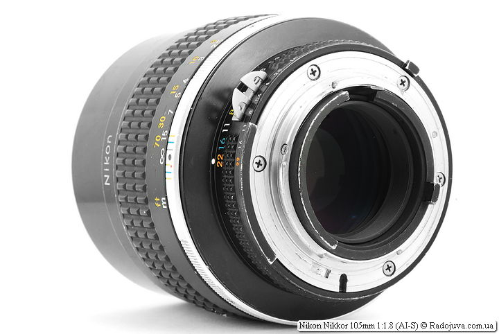 Nikon Nikkor 105mm 1:1.8 (AI-S)