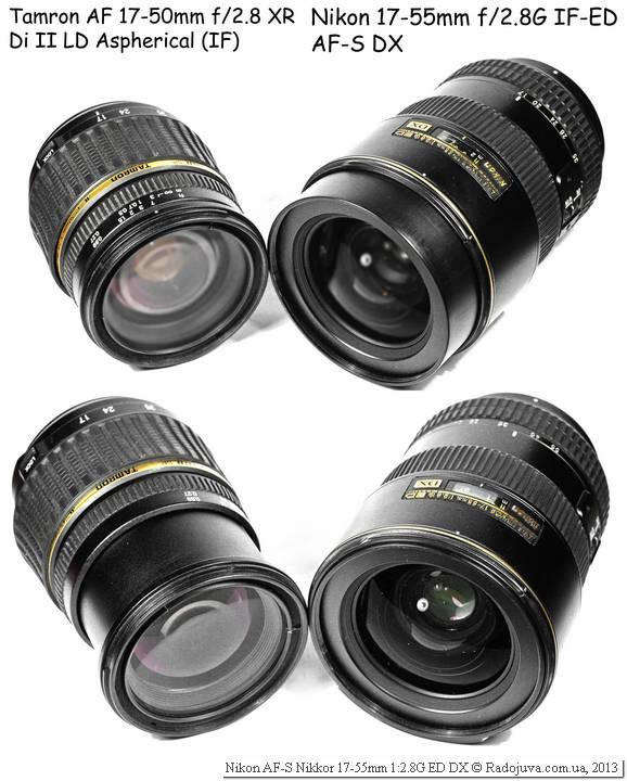 Tamron Aspherical LD XR DI II SP AF 17-50mm 1:2.8 [IF] A16, модель A16 N II и Nikon 17-55/2.8