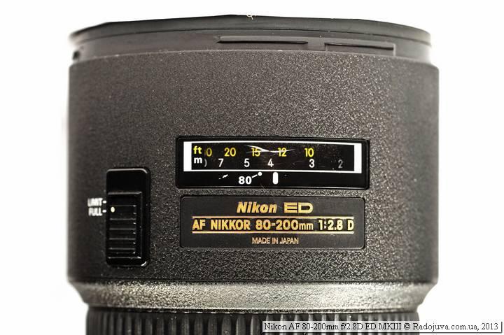 Мой потертый экземпляр Nikon 80-200 2.8 MK3