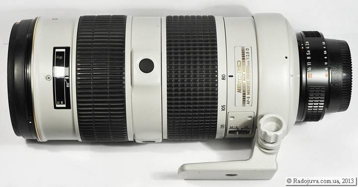 Nikon 80-200 AF-S со штативной лапкой