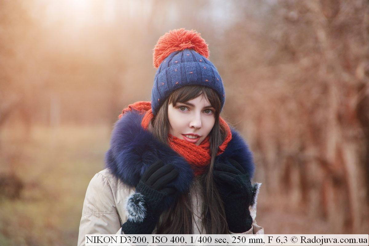 Пример фотографии на Nikon D3200