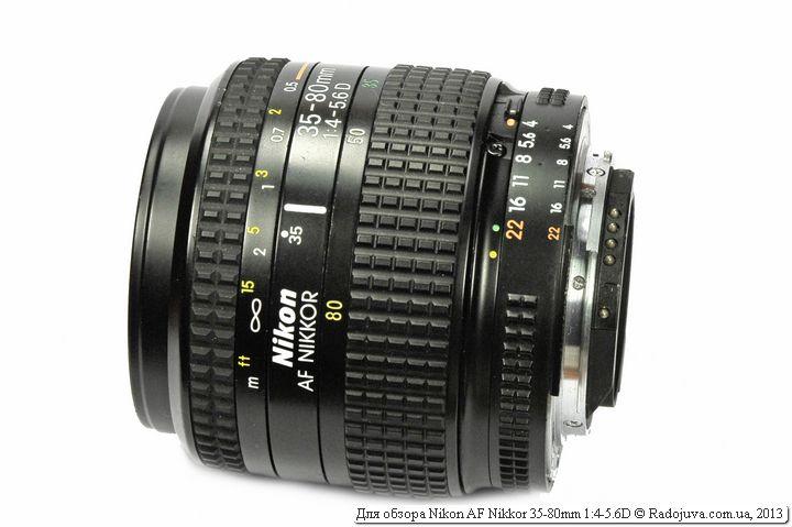 Объектив Nikon AF Nikkor 35-80mm f4-5.6D