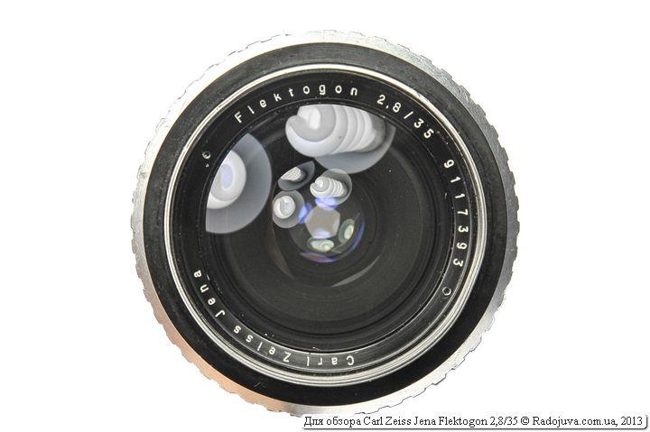 Carl Zeiss Jena Flektogon F2,8 35mm
