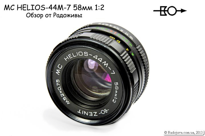Overview of the MC HELIOS-44M-7 58mm 1: 2