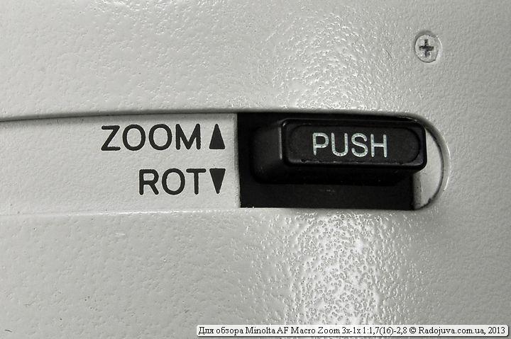 Переключатель режима зума или повотора