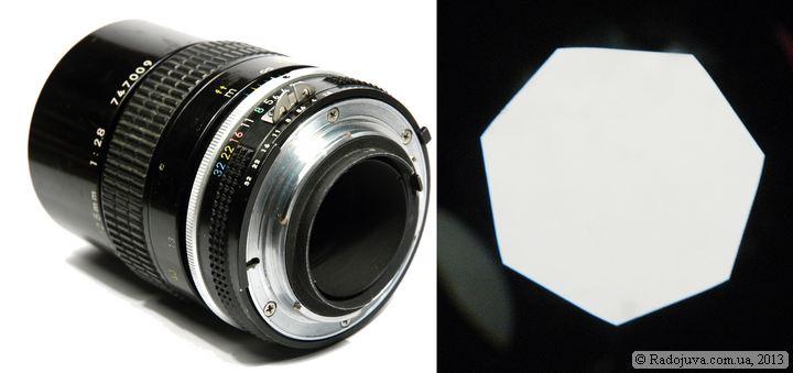 Nikon Nikkor 135mm 1:2.8