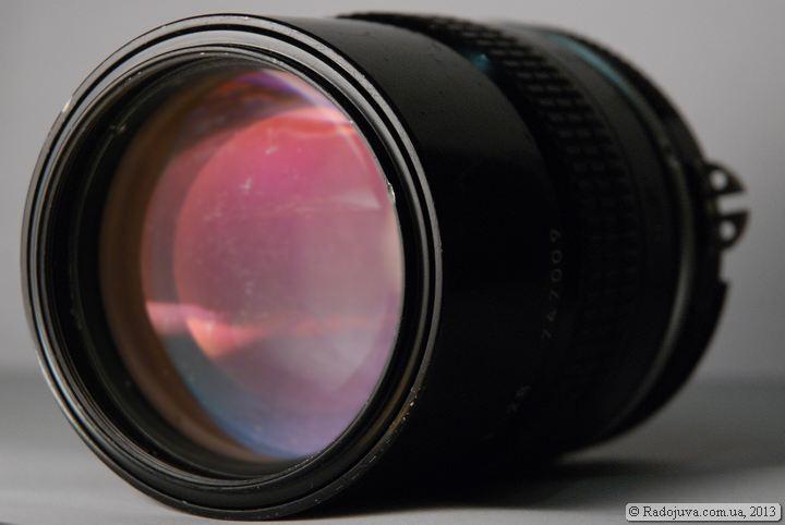 Просветление Nikon Nikkor 135mm 1:2.8