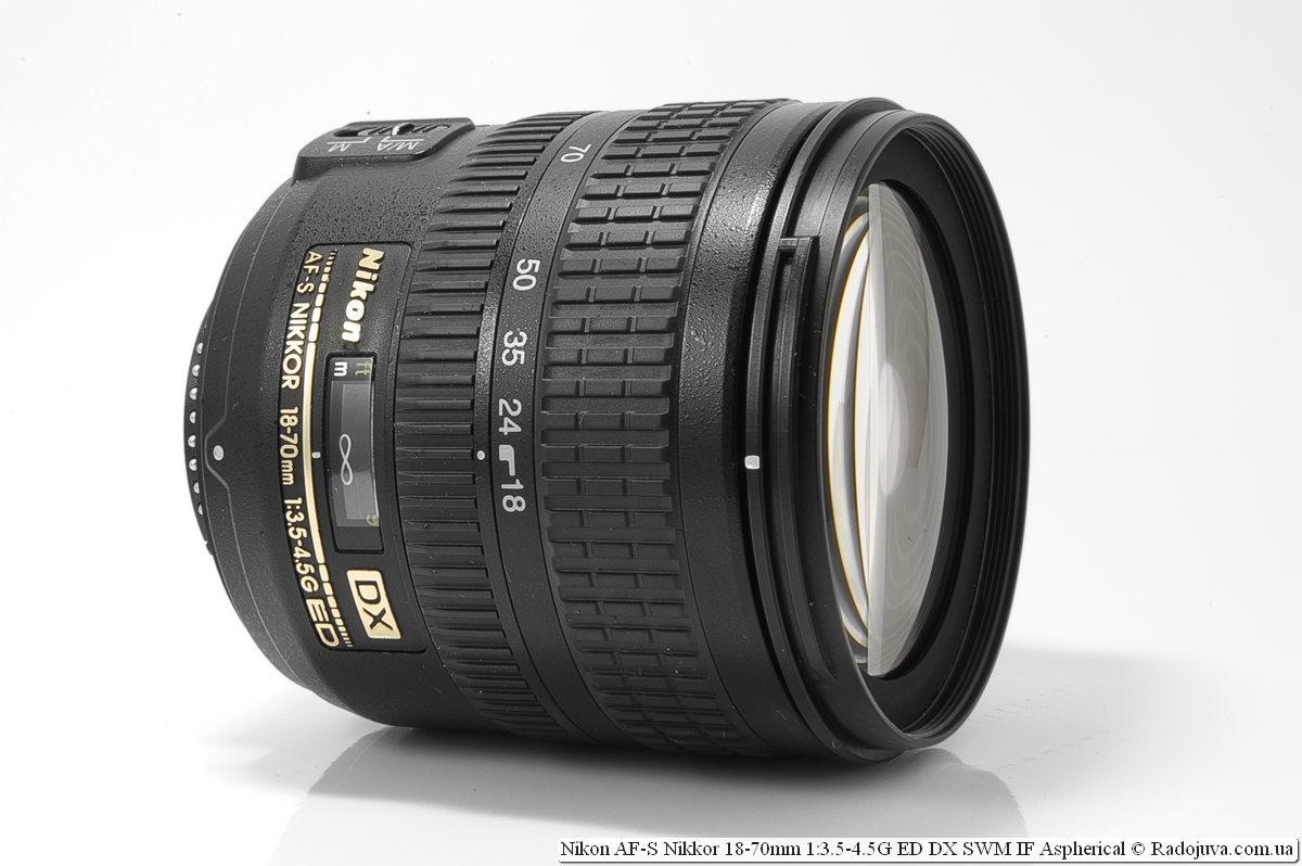 Nikon AF-S DX Nikkor 18-70mm f / 3.5-4.5G ED-IF
