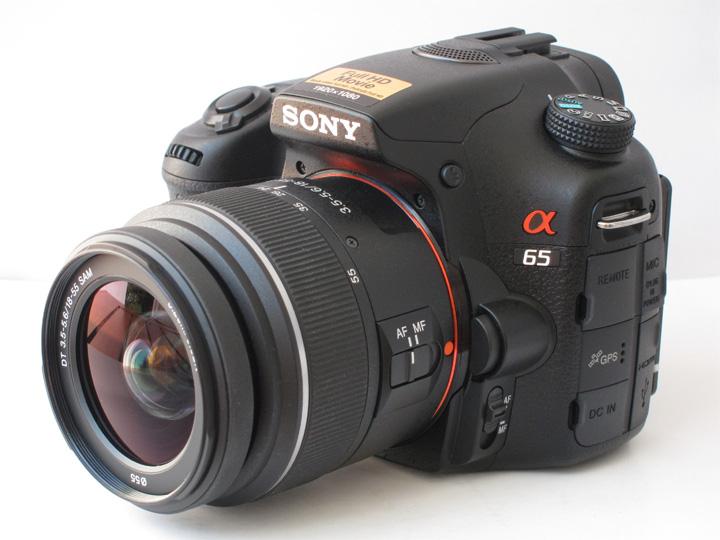 Sony 18-55 DT SAM на камере A65