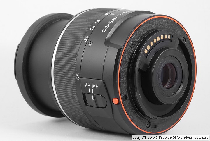 Sony DT 3.5-5.6/18-55 SAM