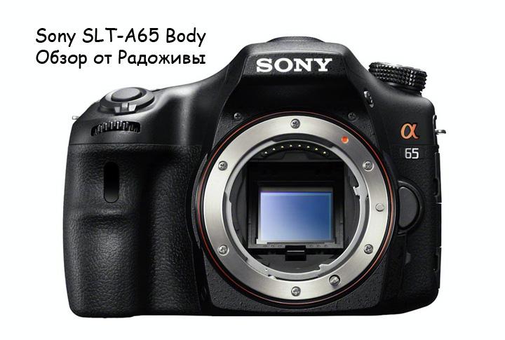 Обзор Sony SLT-A65