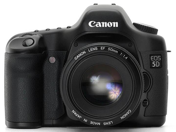 Canon EOS 5D (Mark I, 2005 года)