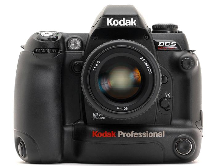 Kodak Professional DCS PRO 14n с объективом Nikon AF Nikkor 50mm 1:1.4D