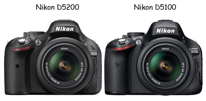 D5100 and D5200 are very similar to each other.
