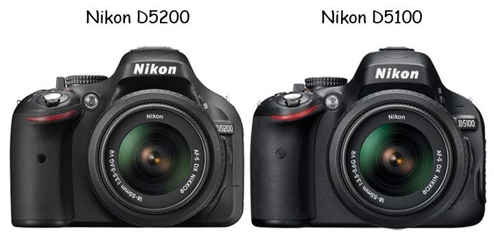 D5100 и D5200 очень похожи друг на друга