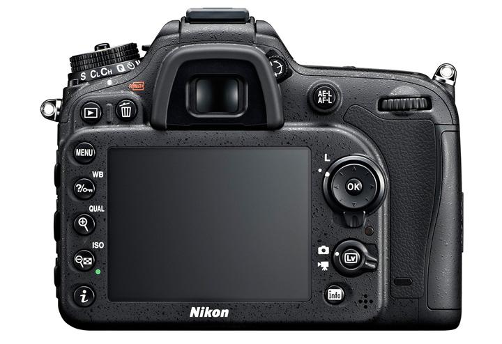 Nikon D7100 вид сзади